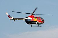 BO-105 Red Bull Helicopter