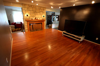 TV Room floor